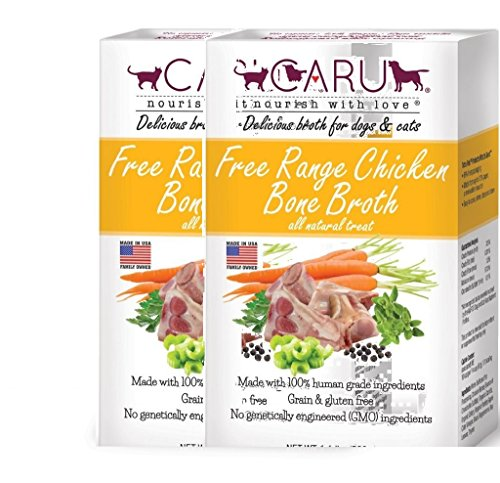Caru Free Range Chicken Broth (Chicken, 2pack) -