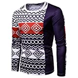Corriee Fashion Tops for Men 2018 Casual Slim Fitted Strip Knitwear Outwear Autumn Winter Warm O Neck Sweater Pullover