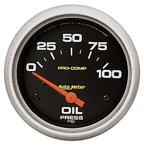 (Auto Meter 5427 Pro-Comp Electric Oil Pressure Gauge)