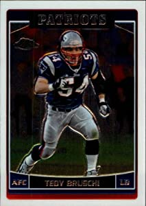 2006 Topps Chrome #95 Tedy Bruschi Card