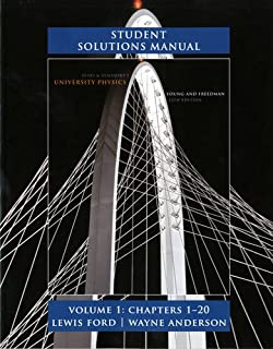 Amazon sears and zemanskys university physics with modern student solutions manual for university physics volume 1 chs 1 20 fandeluxe Image collections