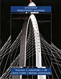 Student Solutions Manual for University Physics Volume 1 (Chs. 1-20) 13th Edition