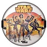 Tech 4 Kids Star Wars Head Shape Foam Sled Storm Trooper Ride On, 24''