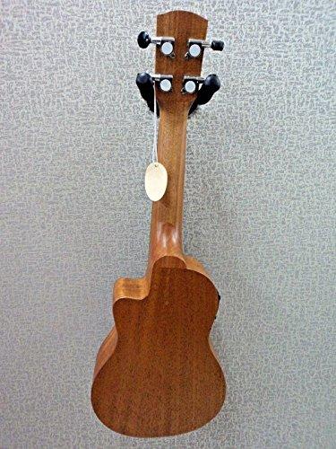 s RU22SCE Soprano Size Electric/Acoustic Mahogany Ukulele ()