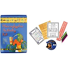 Ancient Egyptian Boxed Hieroglyphic Activity Kit - Made in Egypt