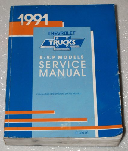 - 1991 Chevrolet R/V, P Models Service Manual (Suburban, P30 Motor Home Chassis, 3500 Truck)
