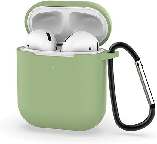 Creamon Funda de Silicona para Apple AirPods 2 Caja de Carga ...