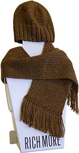 Knitting kit Sturm hat & scarf by Hamanaka
