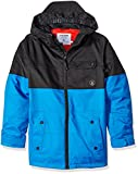 Volcom Big Boys' Cascasde Insulated Jacket, Cyan Blue, M