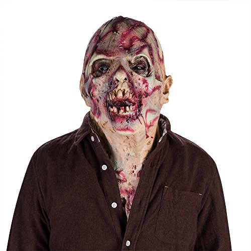 Simply-Me Scary Mask,Novelty Latex Halloween Creepy Costume Corpse Party Overhead Mask by Simply-Me