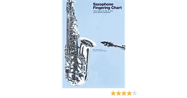 Amazon.Com: Amsco Saxophone Fingering Chart (Amsco Fingering