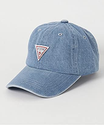 8fb5c7be54c6c ゲスキッズ キャップ GUESS KIDS トライアングルロゴ キャップ キッズ レディース 帽子 ハット ワンサイズ デニム