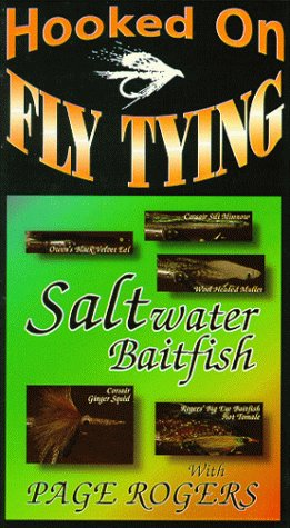 (Hooked On Fly Tying, HPR3 Saltwater Baitfish - Page Rogers [VHS])