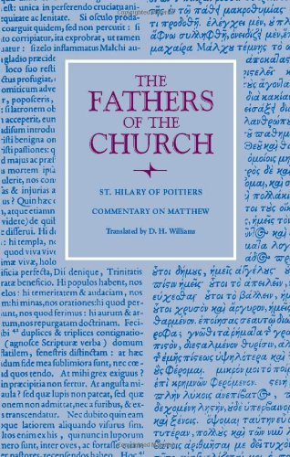 Commentary on Matthew (Fathers of the Church Patristic Series) ()