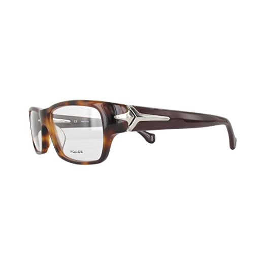 POLICE Homme lunettes de vue V1781M-09AJ-56 SHINY BROWN HAVANA Acetate   Amazon.fr  Vêtements et accessoires 0cabdb8f6ae5