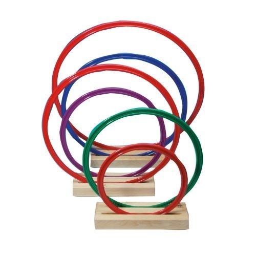 SportFit 675-40 - Hula Hoop Gymnastik-Ringe, 20-er Set