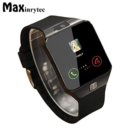 Amazon.com: Bluetooth Smart Watch Wearable Devices DZ09 ...