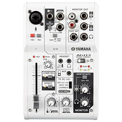 Yamaha AG03 3-Channel Mixer / 1 - Ag Card