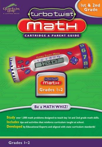 Leap Frog Turbo Twist Math Cartridge, Grades 1 & 2