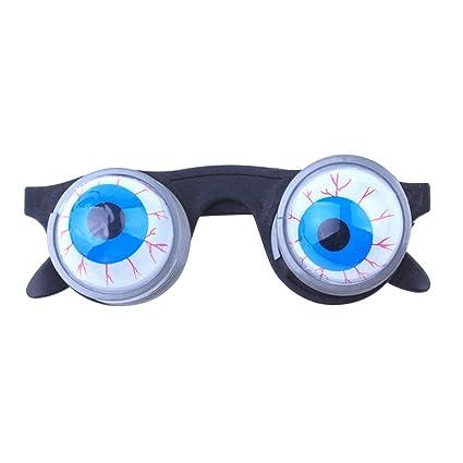 tinksky funny disguise glasses goo goo eye glasses spring eyeball glasses for halloween costume party