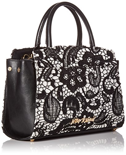 Lady Satchel Lace Betsey Black Johnson gq7w5
