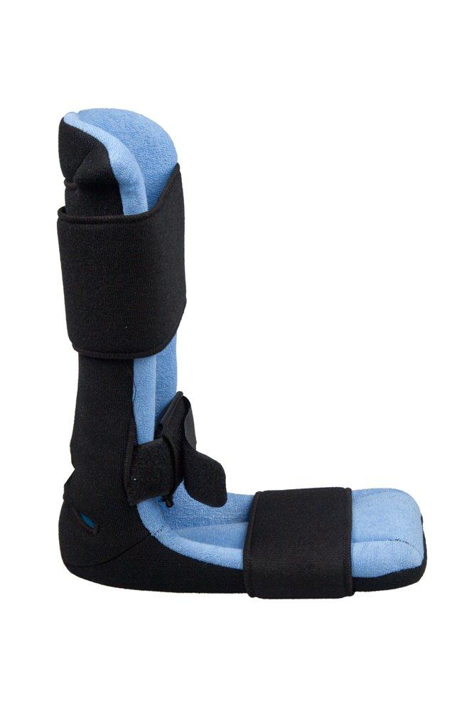 Férula nocturna dorsal ultra ligera y ajustable, con toalla lavable y calza de pie suave: Amazon.es: Salud y cuidado personal