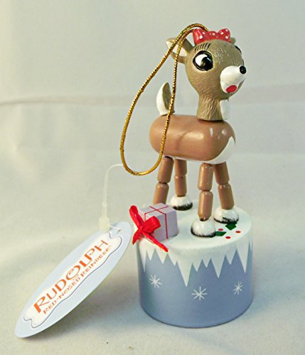 (Clarice (Rudolph's Girlfriend) Push Puppet From Rudolph the Red Nosed Reindeer and the Island of Misfit Toys)