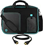 VanGoddy Aqua Blue Laptop Messenger Bag for Acer TravelMate Series / ChromeBook / Swift / Spin / 14
