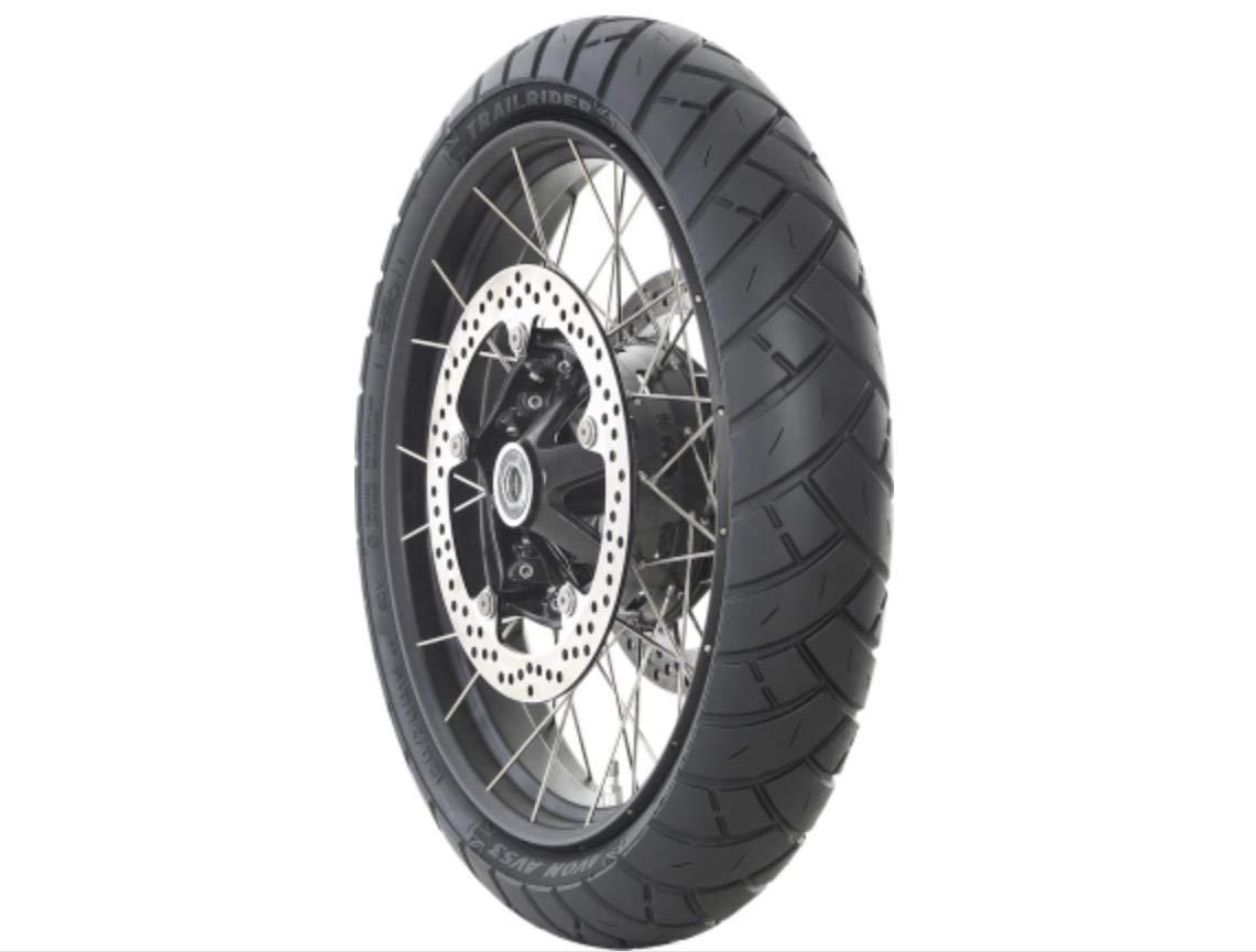 60W Avon Trailrider Front wheel 120//70 ZR19 TL