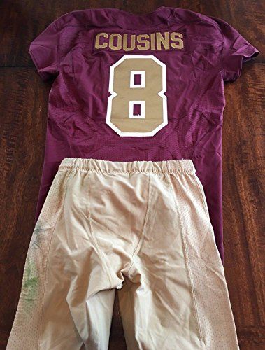 2016 Kirk Cousins Washington Redskins Game Worn Used 2 TD Jersey MeiGray ! – Unsigned NFL Game Used Jerseys