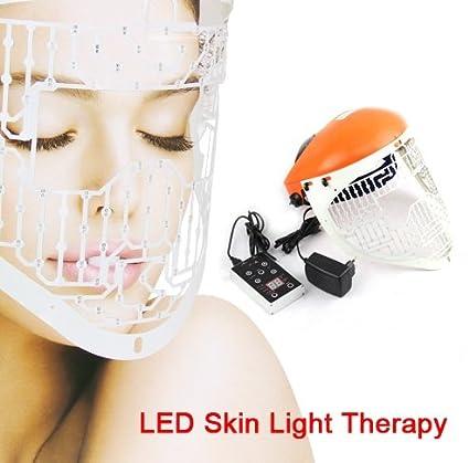 Mascara led facial para tratamientos de arrugas,acné, cuperosis.