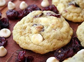 Cranberry Cream Cheese with White Chocolate Chips Cookie Mix