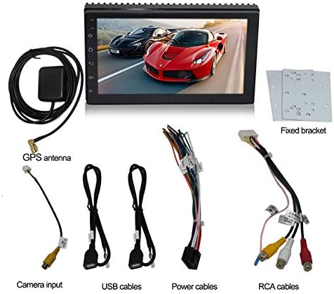 ACAMPTAR USB AUX MP3プレーヤーアダプター カーデジタル音楽CDチェンジャー 3.5ミリメートル マツダMazda 2/3/5/6/CX7/MX5/MPV/Miata/Tribute/RX8 インターフェースに適用して