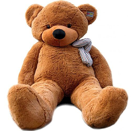 US Stock Dark Brown Giant 2m Teddy Bear 2m 78'' Life Size Soft Stuffed Animals Plush Toy Birthday Valentine Christmas Anniversay - Mall Florida In Orlando Florida