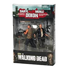 McFarlane Toys The Walking Dead TV Series 4 Dixon Brother Action Figure Playset, 2-Pack
