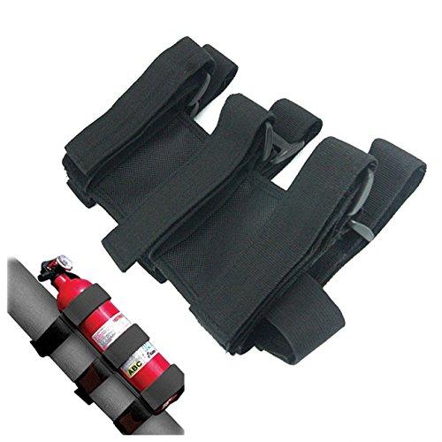 Airkoul-Sport-Roll-Bar-Fire-Extinguisher-Holder-For-Nylon-TJ-YJ-JK-CJ-Jeep-Wrangler