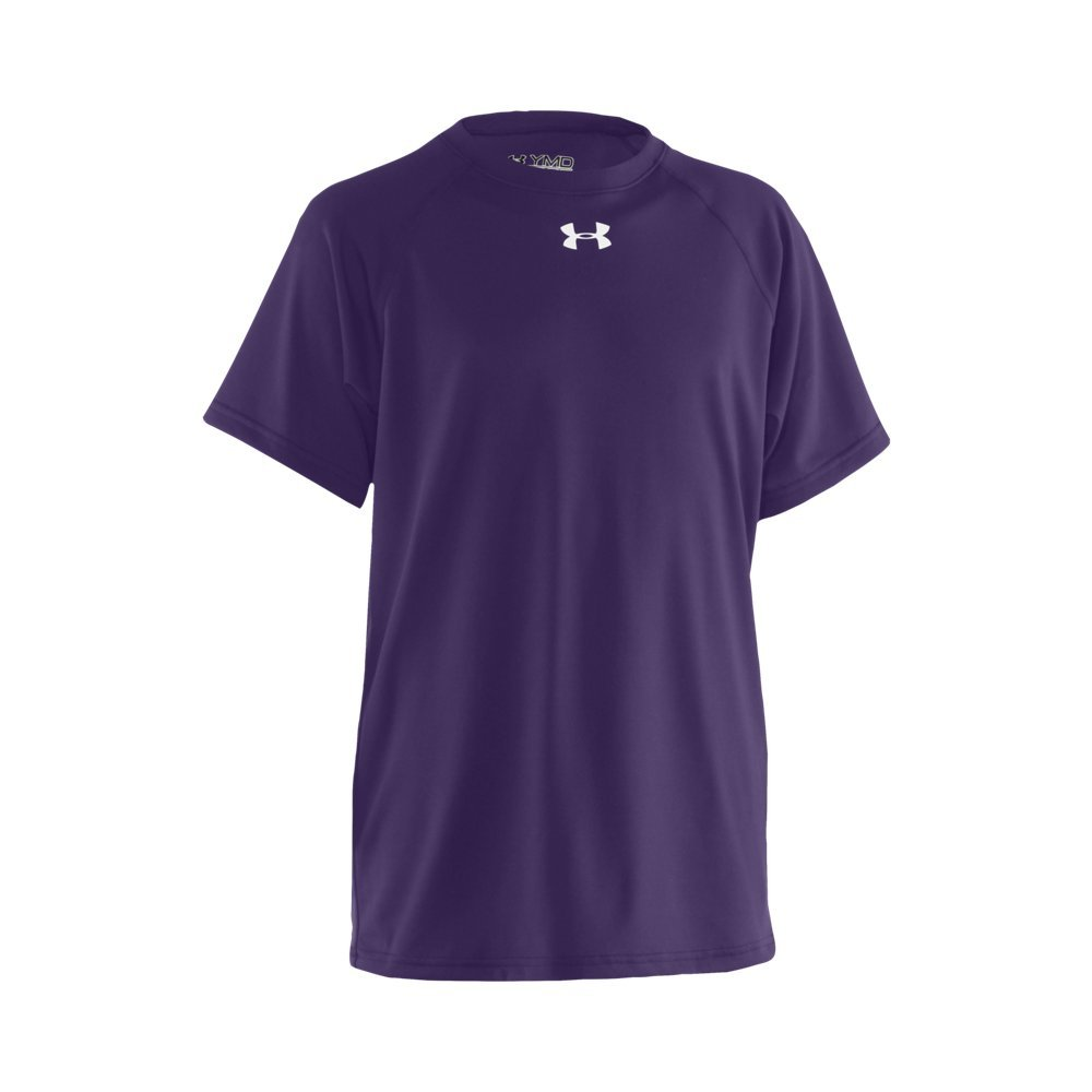 Under Armour Boys' UA Locker Short Sleeve Youth X-Small Purple