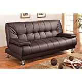 Amazon.com: Brown - Futons / Living Room Furniture: Home & Kitchen