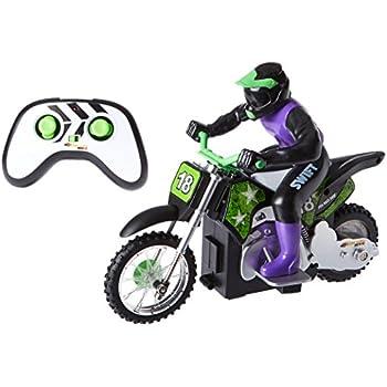 Amazon.com: Braceus Mini RC Motorcycle High Speed Radio ...