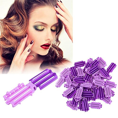 36Pcs/Bag Hair Clip Wave Perm Rod Bars DIY Roots Preming Fluffy ing Styling Tool show by HAHUHERT (Image #3)