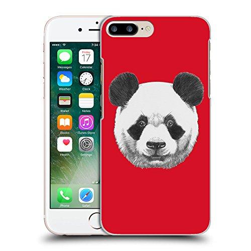 GoGoMobile Coque de Protection TPU Silicone Case pour // Q05300624 Panda Cadmium Rouge // Apple iPhone 7 PLUS