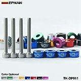 Epman 6mm racing Metric Cup Washer Kit (Cam Cap/B-Series) TR-DP011 Blue