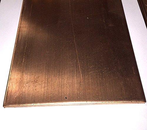 C110 Copper Bar - 1/2'' x 6'' x 12'' by Taurus Copper
