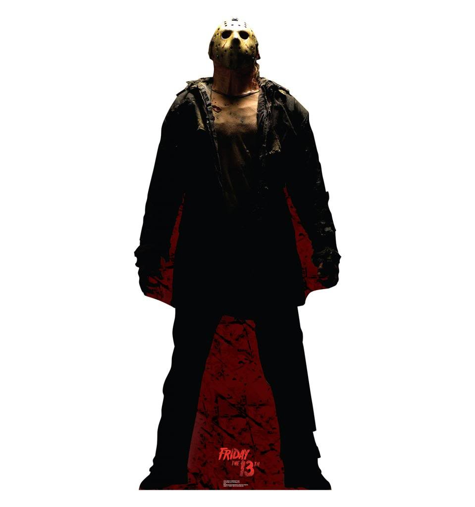 Jason Voorhees ''Dark'' - Friday the 13th (2009) - Advanced Graphics Life Size Cardboard Standup