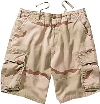 Tri-Color Desert Camouflage Vintage Paratrooper Cargo Shorts 2150 Size Medium