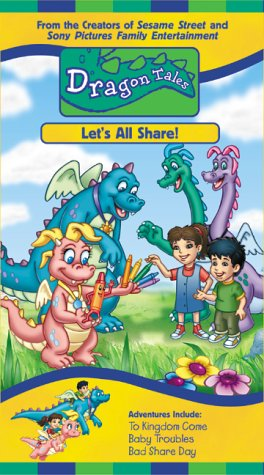 Dragon Tales - Lets All Share [VHS]