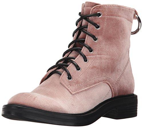 Vita Rose Dolce Women's Combat Velvet Boot Bardot Zw8dg