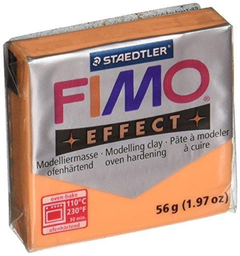 Fimo Soft Polymer Clay 1.97 Ounces-8020-404 Transparent Orange ()