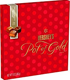 Hershey\'s Pot of Gold Premium Collection Chocolates, 10 oz