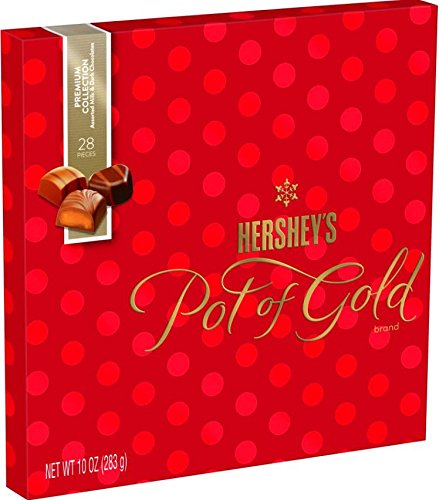 Hershey's Pot of Gold Premium Collection Chocolates, 10...
